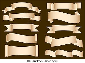 Banner Ribbon Scroll