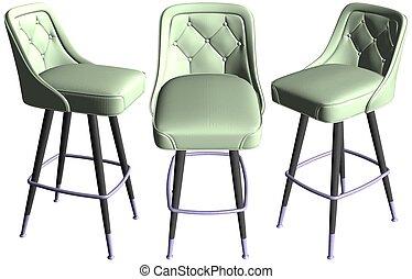 Bar Chair Vector 01.eps