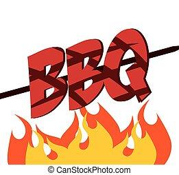 barbecue design, vector illustration eps10 graphic