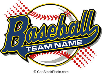 baseball design with tail and baseball background