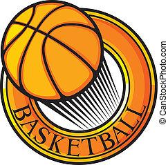 basketball club emblem, design, sym