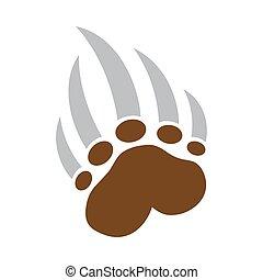 Bear Claw vector