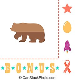 Bear computer symbol