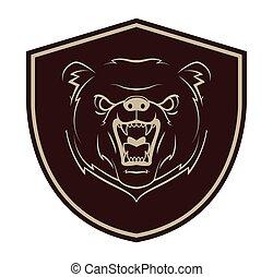 Bear Mascot Tattoo