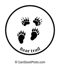 Bear trails icon