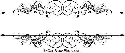 beauty ornamental banner