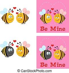 Bee Cartoon Characters