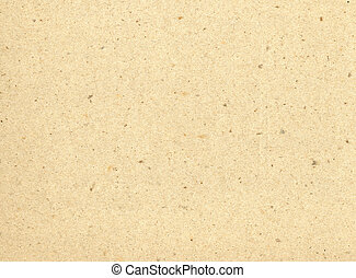 Particles of reused paper form a texture on this cream colored background.