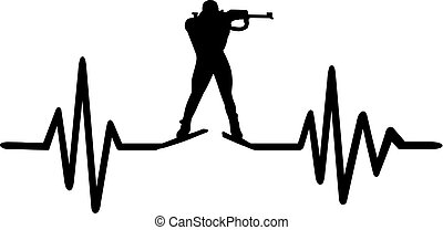 Biathlon heartbeat pulse