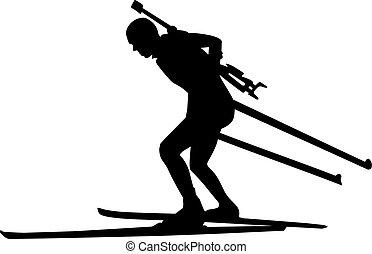 Biathlon Runner