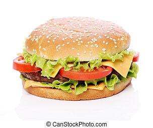 Big and very tasty burger