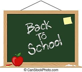 blackboard back to school