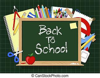 blackboard school supplies