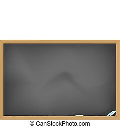 blank blackboard for design