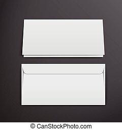 blank envelopes template
