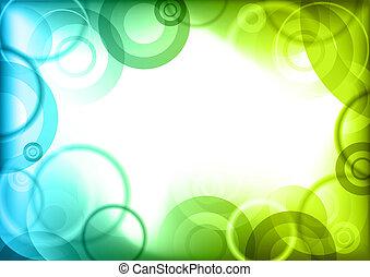 center background