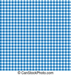 Blue and white seamless tablecloth