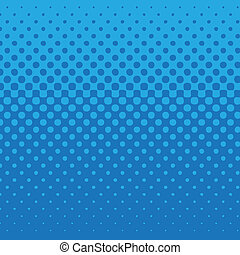 linear halftone tone background blue with dot pattern.