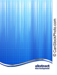 blue industrial business background