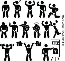 Body Builder Bodybuilder Muscle Man