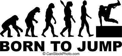 Born to jump parkour evolution