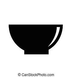 Bowl icon vector illustration