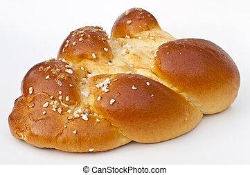 braided yeast bun