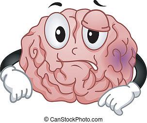 Brain Mascot