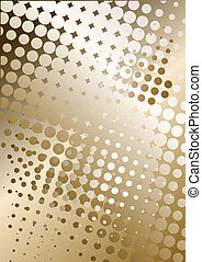 metal background with dots