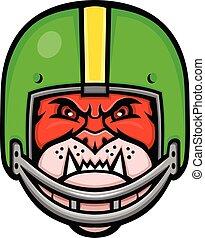 bulldog-american-football-helmet-frnt-MASCOT