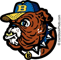 bulldog baseball mascot