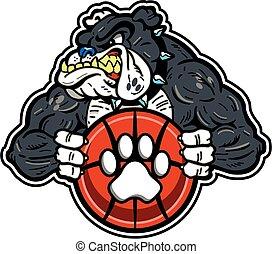 bulldog basketball mascot