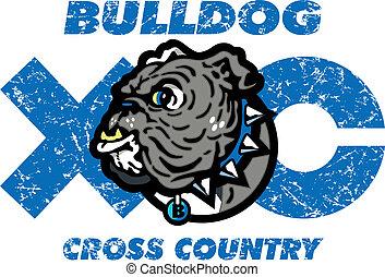 bulldog cross country design