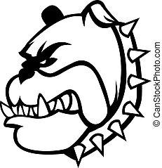 Bulldog Illustration design