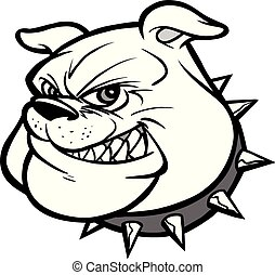 Bulldog Mascot Illustration
