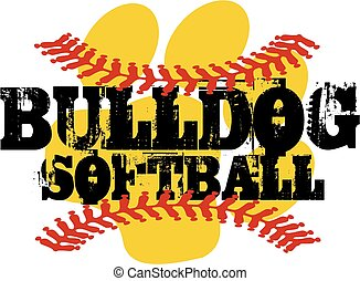 bulldog softball