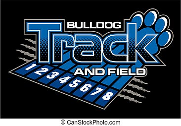 bulldog track and field