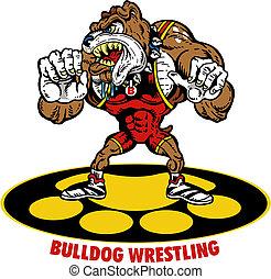 bulldog wrestler