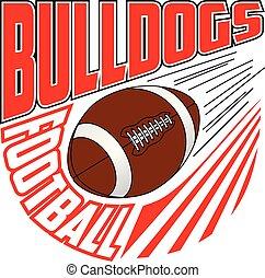 Bulldogs Football Team Design