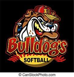 bulldogs softball