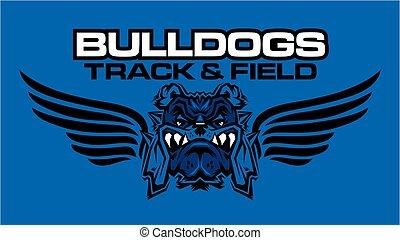 bulldogs track and field
