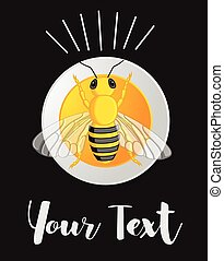 Bumble-Bee Vector Template