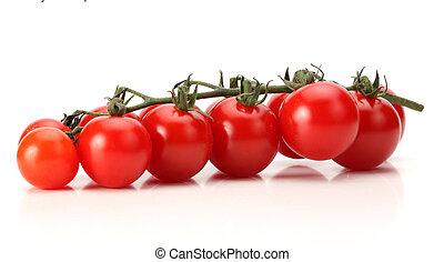 Bunch of fresh cherry tomato