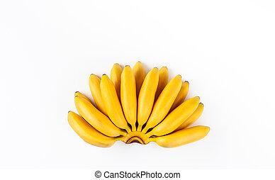 Bunch of ripe organic banana