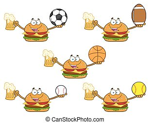 Burger Character Collection - 2