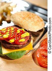 burger - fastfood