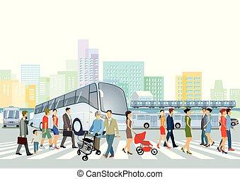 Bus-Verkehr