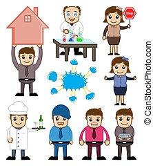 Business Cartoon People Vectors
