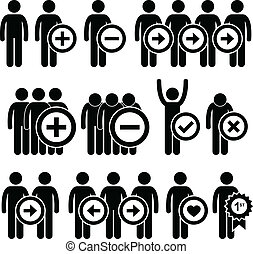 Business Human Resources Pictogram