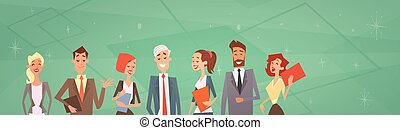 Business People Group Team Human Resources Colleagues